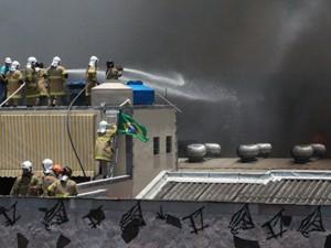 incêndio madureira (Foto: Celso Barbosa/Brazil Photo Press/Estadão Conteúdo)