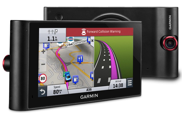 Novo GPS usa câmera que ajuda o motorista a dirigir com mais informações e segurança (Foto: Divulgação/Garmin)