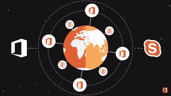 Office 365 ganhou integração com Skype for Business para melhorar colaboração nas empresas (Foto: Reprodução/Microsoft)
