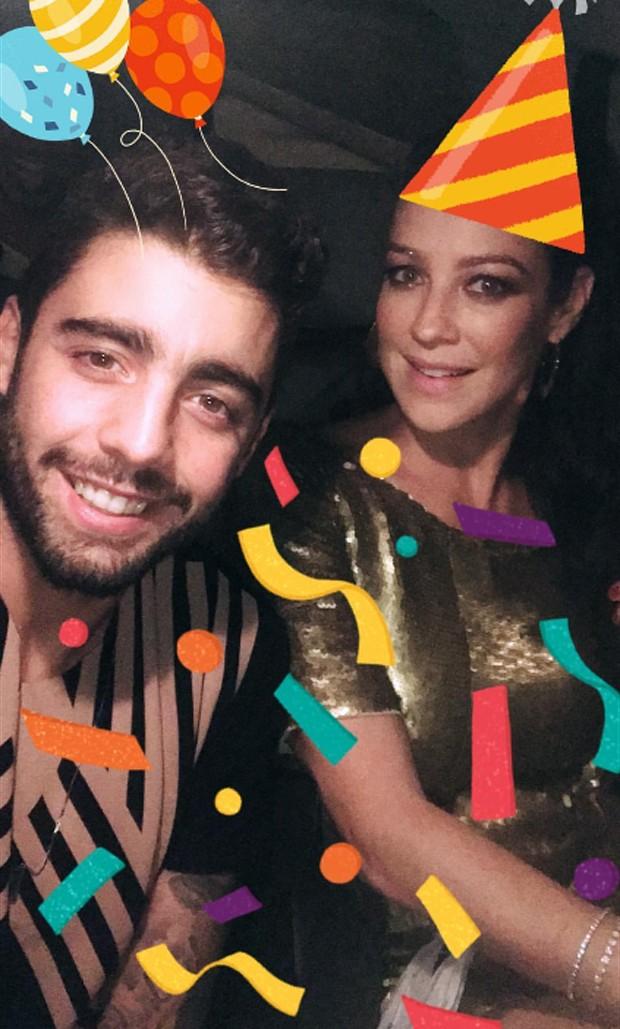 Luana Piovani e Pedro Scooby (Foto: Reprodução)