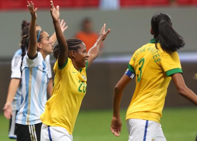 274fd7171f Formiga camisa 20 Brasil futebol feminino (Foto  Mowa Press  Site CBF)  Seleção ...