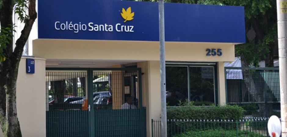 Alunos do Colégio Santa Cruz criticam greve geral (Foto: Divulgação)