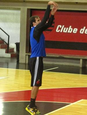 Marcelinho flamengo basquete (Foto: Fabio Leme)