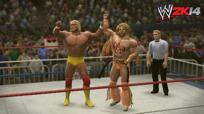WWE 2K14, Wrestlemania a mais. Conheça os melhores jogos de luta livre (Foto: Divulgação)