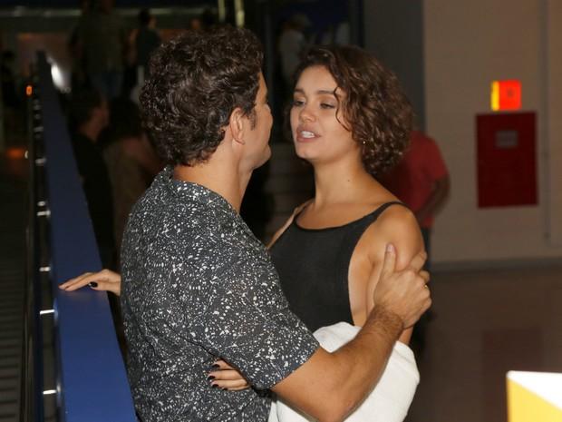 Sophie Charllotte e Daniel de Oliveira em pré-estreia de filme na Zona Sul do Rio (Foto: Felipe Assumpção/ Ag. News)