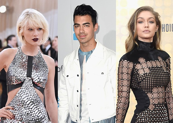 Taylor Swift, Joe Jonas, Gigi Hadid (Foto: Getty Images)