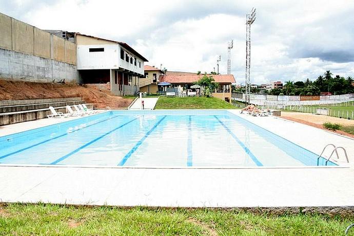 Piscina do Esporte Clube Aracruz (Foto: Divulgação/EC Aracruz)