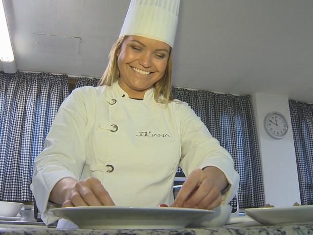 Juliana faz parte das mulheres que comandam 29% dos empreendimentos no Rio Grande do Sul (Foto: Reprodução/RBSTV)