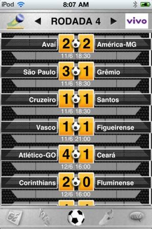 TV Globo Brasileirão 2011