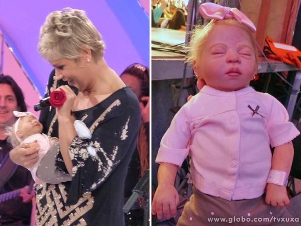 O bebê que parece de verdade! (Foto: TV Globo / TV Xuxa)