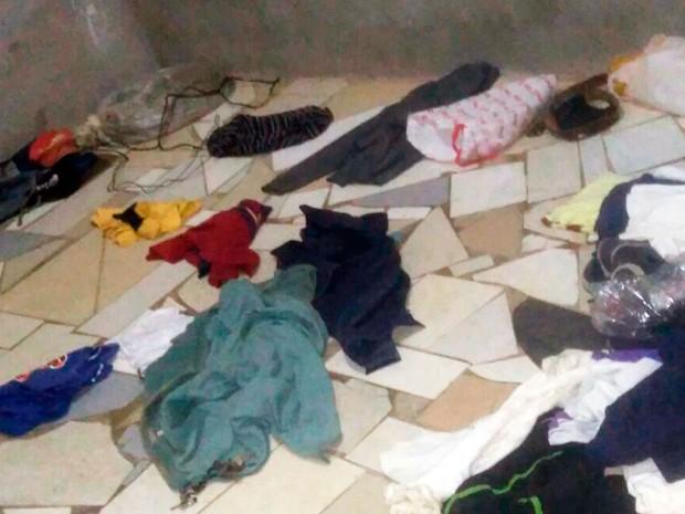 Jovens disseram que reviraram casa da vítima para simular assalto (Foto: Divulgação/Polícia Civil)