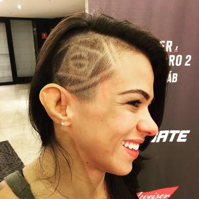 Claudia Gadelha, UFC SP (Foto: Ana Hissa)