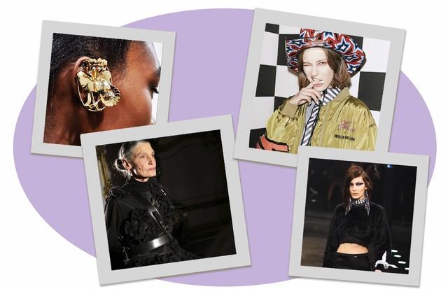 As melhores fotos de sábado da LFW (Foto: Arte Vogue Online)