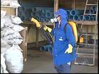 Equipes fazem nebulização contra mosquito da dengue em Rio Preto