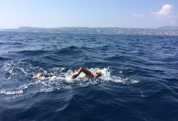 ana marcela natação prova (Foto: Divulgação)