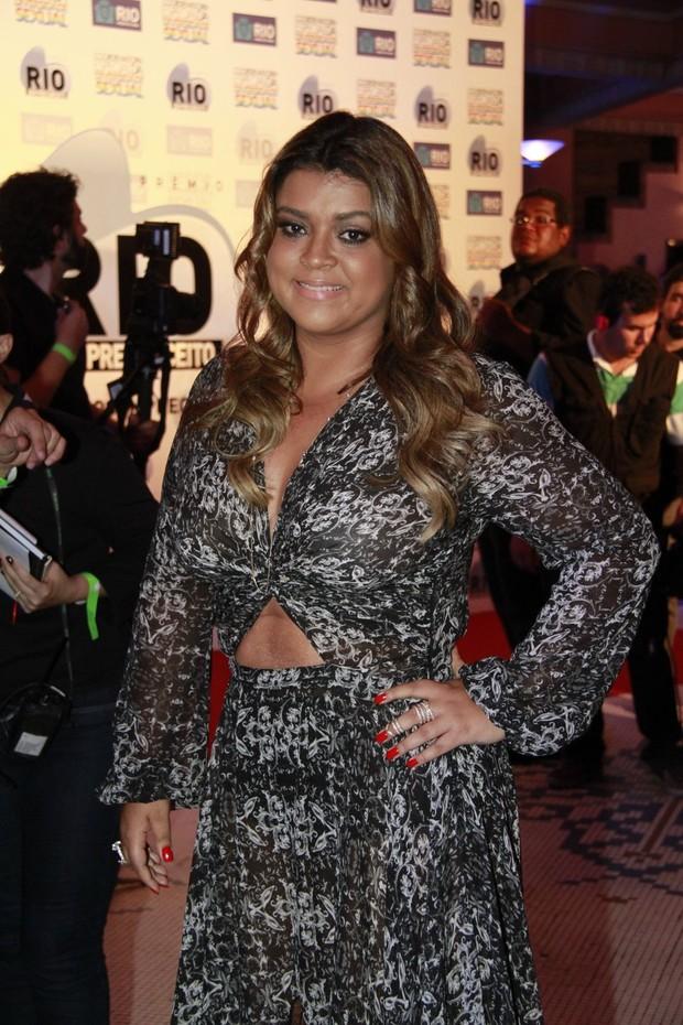 Preta Gil em premiação no Rio (Foto: Isac Luz/EGO)