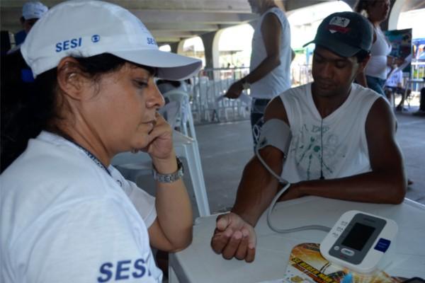 'Ação Global' oferece serviços como (Foto: Gabriel Serzedello)