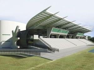COT da UFMT terá pista oficial de atletismo (Foto: Edson Rodrigues/Secopa) (Foto: Edson Rodrigues/Secopa-MT)