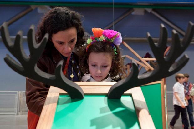 Exposição foi desenvolvida especialmente para as crianças (Foto: Hervé Véronèse/Centre Pompidou)