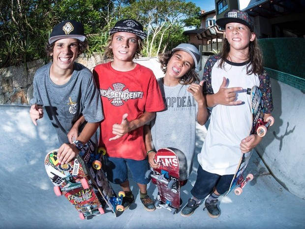 Primeira temporada de Skate Para Menores estreia na tera, dia 17 de abril, s 21h (Foto: Divulgao/Canal OFF)
