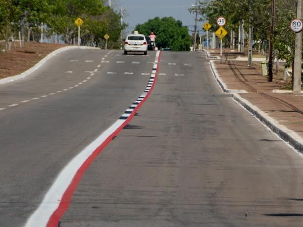 Ciclofaixa sairá do Parque Cesamar em direção à Praça dos Girassóis (Foto: Divulgação/Secom Palmas)