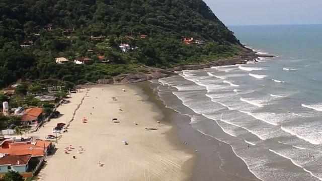 Produção do programa Rota do Sol em Guarau (Foto: Reprodução / TV Tribuna)