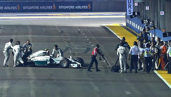Nico Rosberg GP de Cingapura