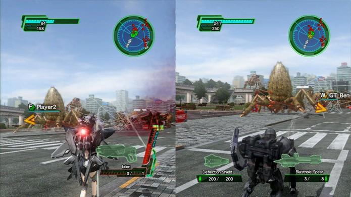 Earth Defense Force 2025 é melhor aproveitado com amigos (Foto: gametrailers.com)