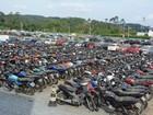 Leilão com 773 veículos e sucatas ocorre nesta quarta em Blumenau