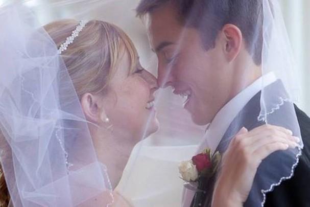 O casal Katie e Dalton Prager (Foto: Reprodução)