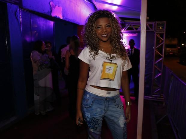 MC Ludmilla em festa de Preta Gil no Rio (Foto: Felipe Panfili, Felipe Assumpção e Léo Marinho/ Ag. News)
