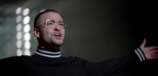 Justin Timberlake em cena de 'Filthy', clipe do primeiro single de 'Man of the Woods' (Foto: Reprodução/YouTube)