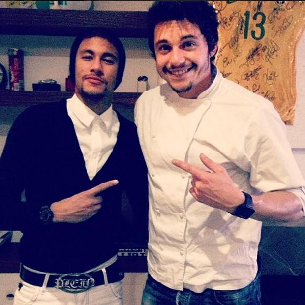 Neymar e João Alcântara (Foto: Reprodução/Instagram)