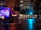 Rede cria baú de moto com sistema 'anti-pizza bagunçada'