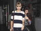 Selena Gomez sai para jantar com Taylor Swift após briga com Bieber