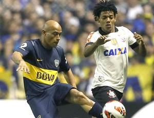 Romarinho jogo Corinthians Boca Juniors (Foto: EFE)