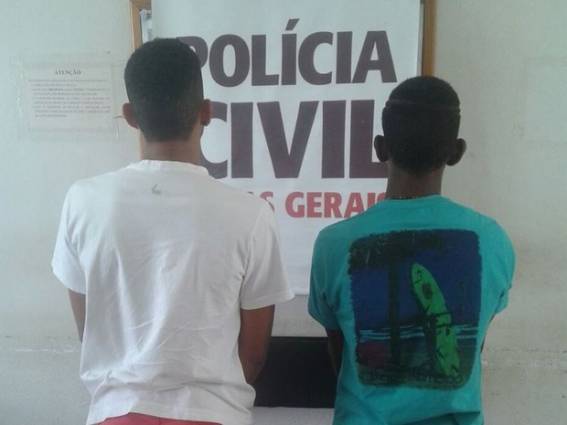 Os dois foram encontrados no Bairro Esplanada (Foto: Polícia Civil/Divulgação)