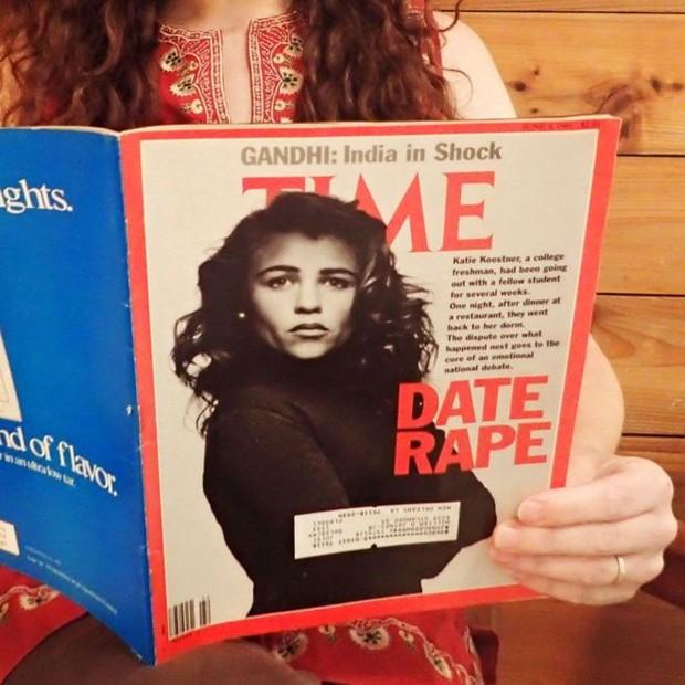 Katie Koestner foi capa da revista Time em 3 de junho de 1991 (Foto: MORE MAGAZINES)