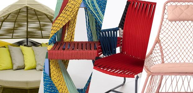 Decoração com corda: 20 móveis e acessórios coloridos (Foto: Divulgação)