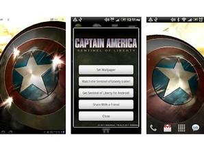 captain america live paper