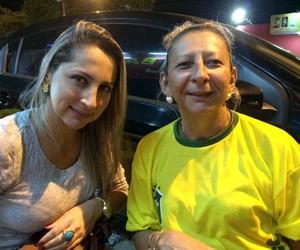 Shirllaynne Maia e Lúcia Maia