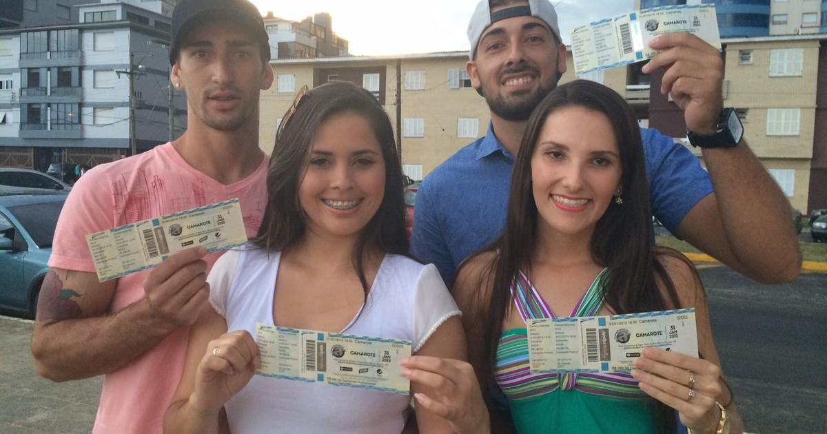 Casais de amigos compram primeiros ingressos para o Planeta ... - Globo.com