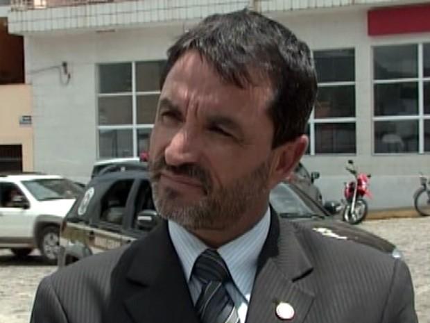 Delegado de Pouso Alegre João Euzébio Cruz (Foto: Reprodução EPTV)