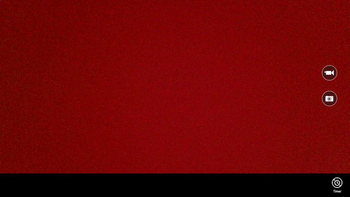 Aplicativo de câmera do Windows 8 (Foto: Reprodução/Helito Bijora)