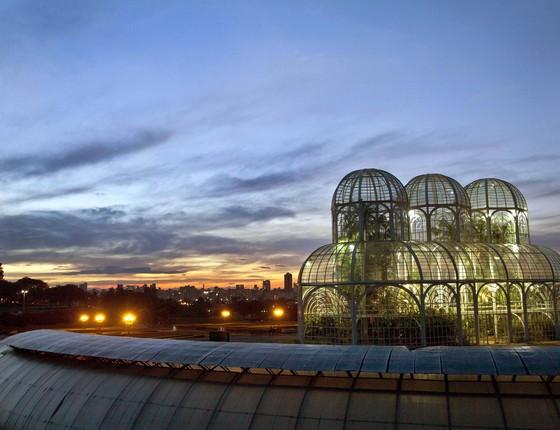 Jardim Botânico de Curitiba (Foto: Cesar Brustolin/SMCS)