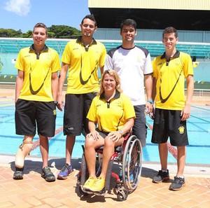 Natação Praia Clube equipe (Foto: Divulgação Praia Clube/Leandro Mendes)