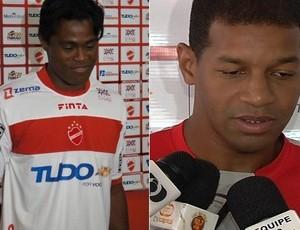 Fredson e Thiago Ramos (Foto: Daniel Mundim e Reprodução/TV Anhanguera)