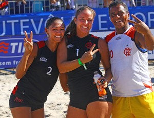 Futvôlei Flamengo feminino (Foto: Pedro Monteiro)