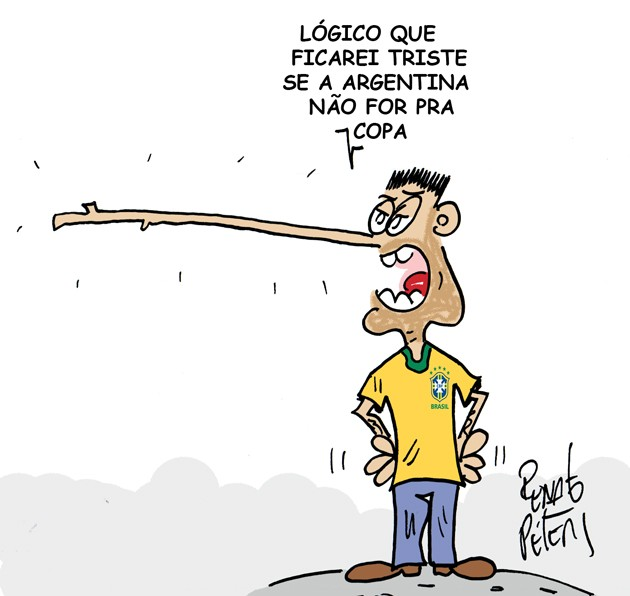 Perna curta-charge Peters