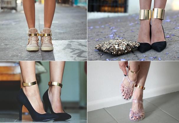 Ankle cuffs, a nova mania fashionista (Foto: Reprodução Tumblr)